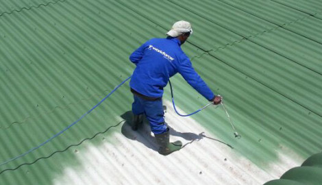 Epoxy Floor & Roof Painting